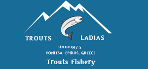 TROUT FISHERY LADIAS, KONITSA, EPIRUS, GREECE